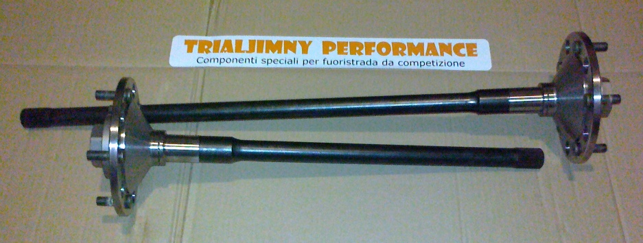28-spline semi-floating Suzuki Jimny rear axle shafts